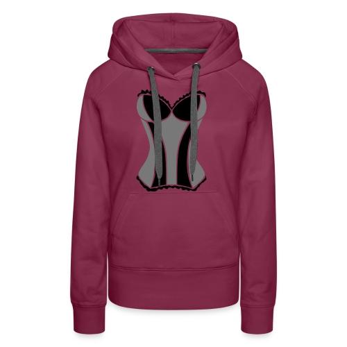 corsage2_2 - Frauen Premium Hoodie