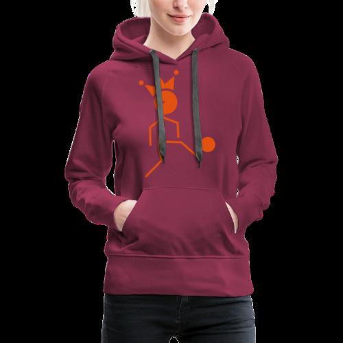 Voetbalkoning - Vrouwen Premium hoodie