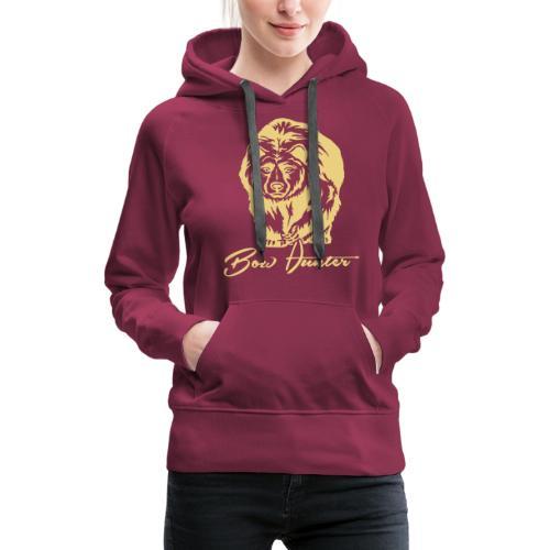 Bear Bowhunter - Frauen Premium Hoodie