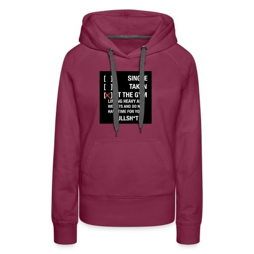 Sodrop single - Vrouwen Premium hoodie