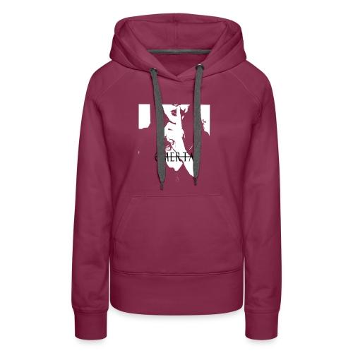 Omerta text zwart - Vrouwen Premium hoodie