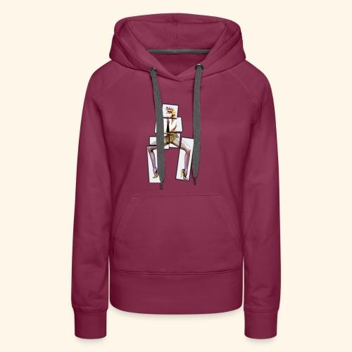 PINUP multiply - Sweat-shirt à capuche Premium pour femmes