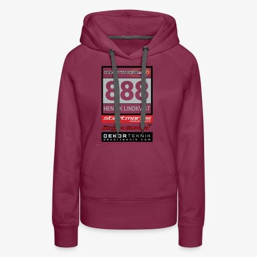 Startnummer 888 HL - Premiumluvtröja dam