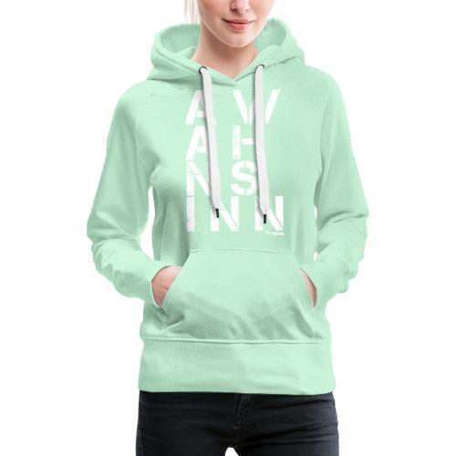 HazyShirt03awahnsinninv - Frauen Premium Hoodie
