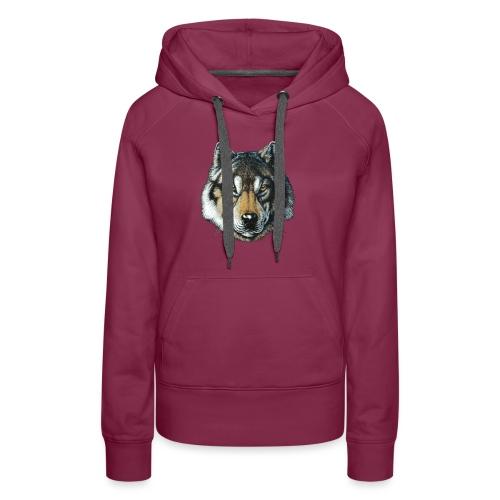wolf - Dame Premium hættetrøje