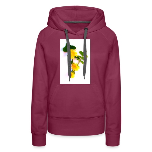 Margaritas 3d by The Cat Project - Sudadera con capucha premium para mujer