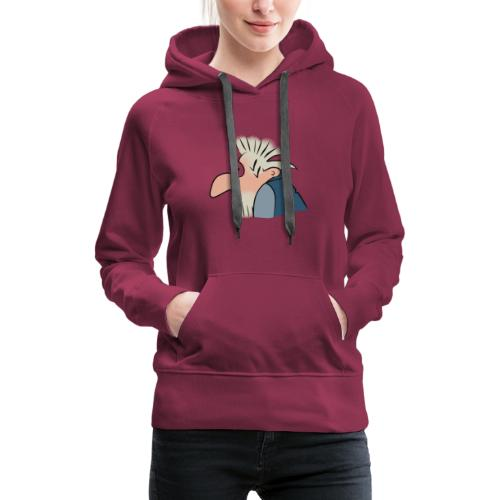 Alter Mann - Frauen Premium Hoodie