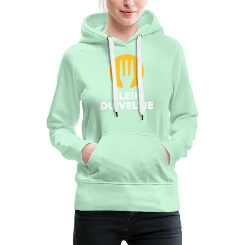 klein duiveltje - trident - Sweat-shirt à capuche Premium pour femmes