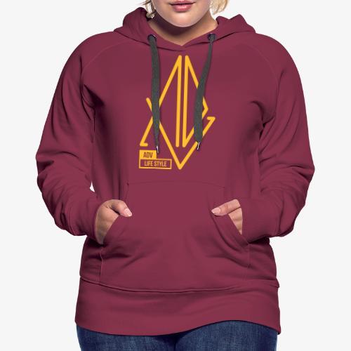 ADV Gold' - Sweat-shirt à capuche Premium pour femmes