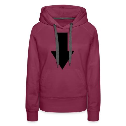 pfeil - Frauen Premium Hoodie