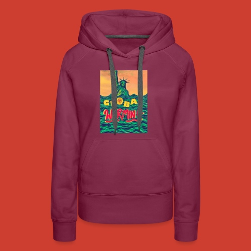 Global Warming Sunrise - Women's Premium Hoodie