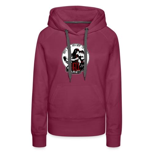 Hell Awaits - demonic couple - Vrouwen Premium hoodie