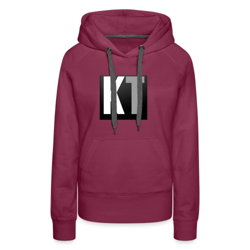 KT iPhone edition phone case - Women's Premium Hoodie
