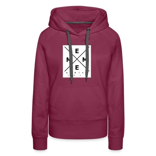 Meme-logo - Frauen Premium Hoodie
