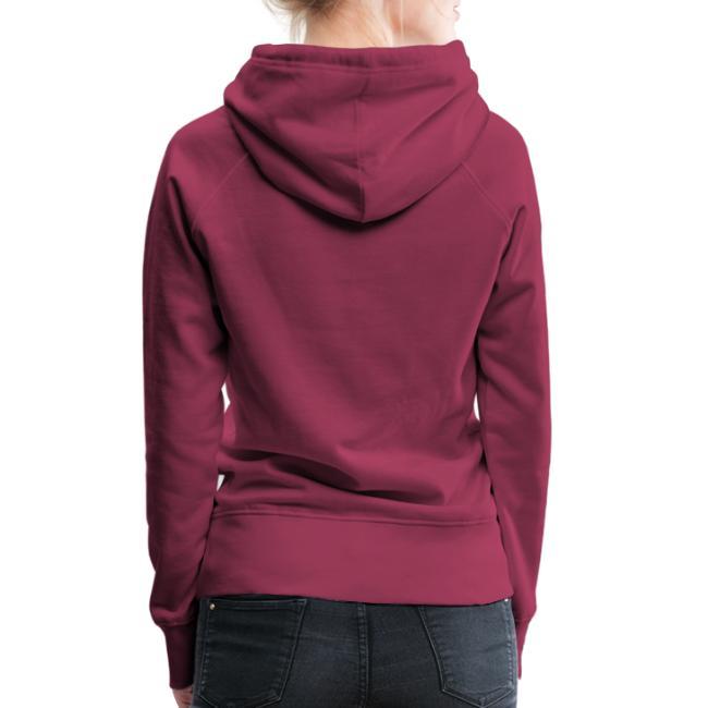 Vorschau: ana vo uns zwa is bleda ois i - Frauen Premium Hoodie