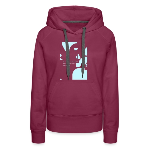 ComeFlyWithMe2 png - Women's Premium Hoodie