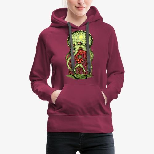 Attaque extraterrestre - Sweat-shirt à capuche Premium pour femmes
