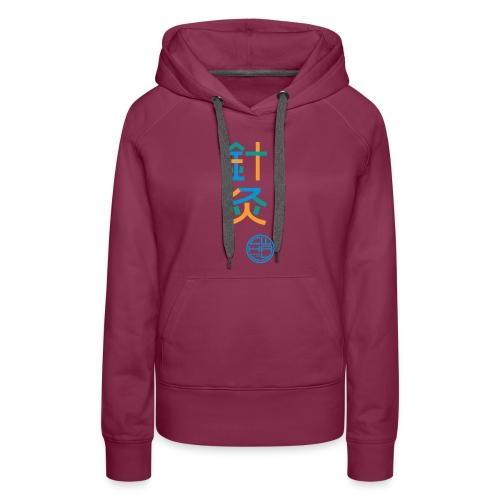 Aku-Moxa 3-farbig - Frauen Premium Hoodie