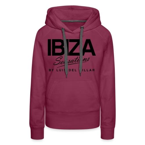 Cooking Apron Ibiza Sensations - Sudadera con capucha premium para mujer