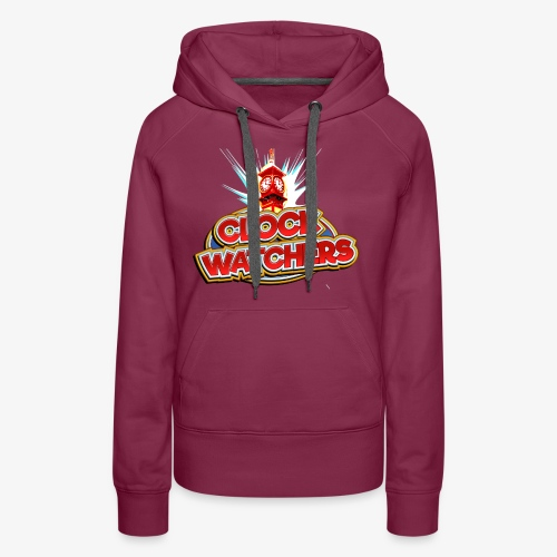 The Clockwatchers logo - Women's Premium Hoodie