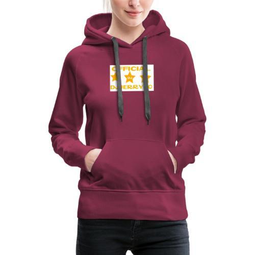 motif - Sweat-shirt à capuche Premium pour femmes