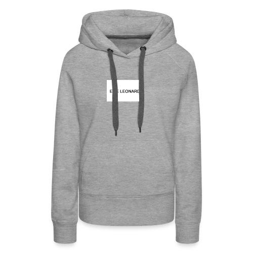 ELIE LEONARD - Sweat-shirt à capuche Premium pour femmes