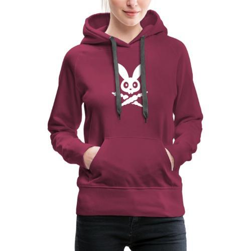 SKULLY Hase bunny Schädel kaninchen häschen - Frauen Premium Hoodie
