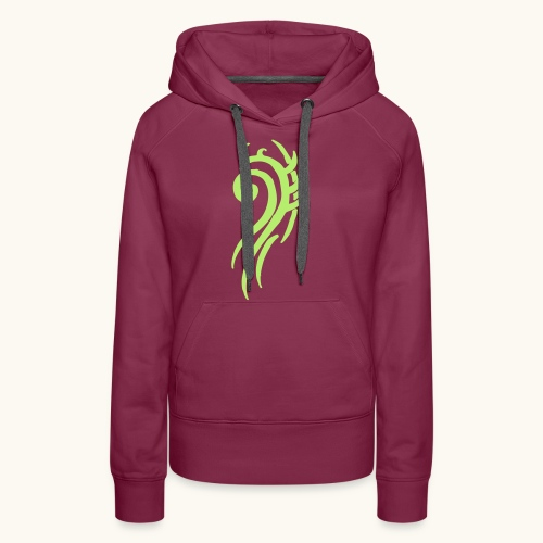 Tattoo Design Tribals Swirl Icon Gift Cool - Sweat-shirt à capuche Premium pour femmes