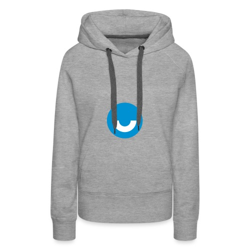 upday Icon blau - Women's Premium Hoodie
