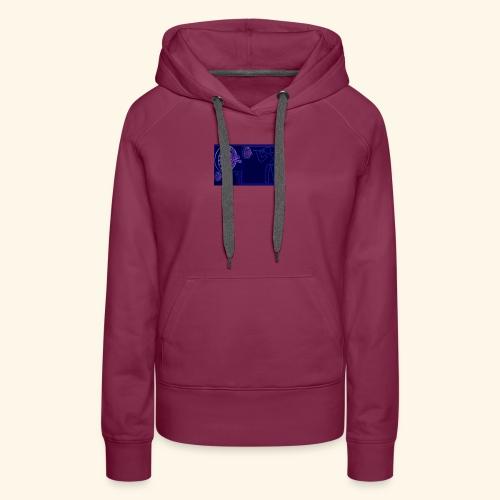 Dartblack BL b1 - Frauen Premium Hoodie