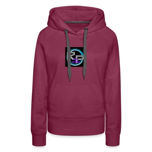 youtube4 logo - Women's Premium Hoodie