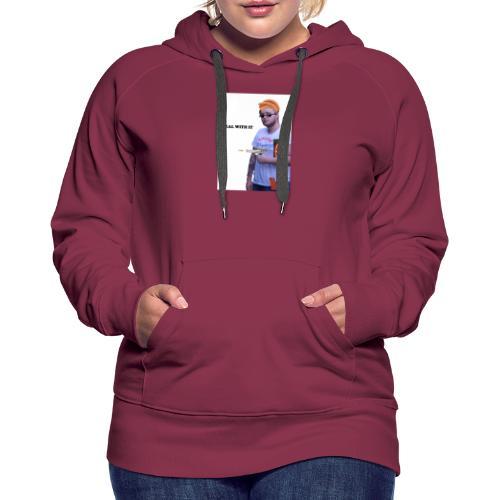 DealWithItJugg - Dame Premium hættetrøje