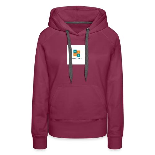 akram t shirt - Sweat-shirt à capuche Premium pour femmes