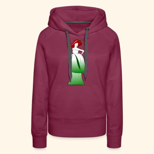 Kimchifrau - Frauen Premium Hoodie
