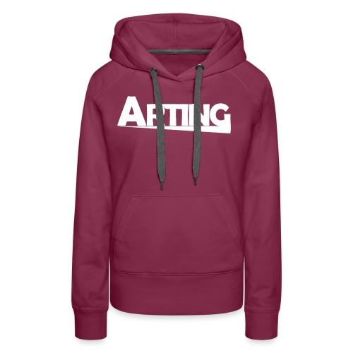 Arting - Sudadera con capucha premium para mujer