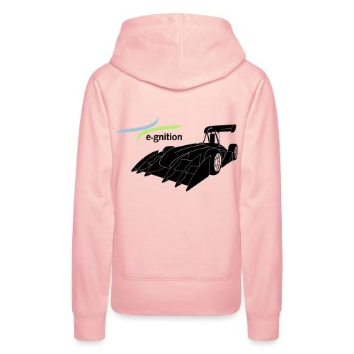 egn Auto schwarz farb log - Frauen Premium Hoodie