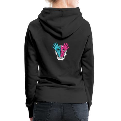 Feckers Logo - Sweat-shirt à capuche Premium pour femmes