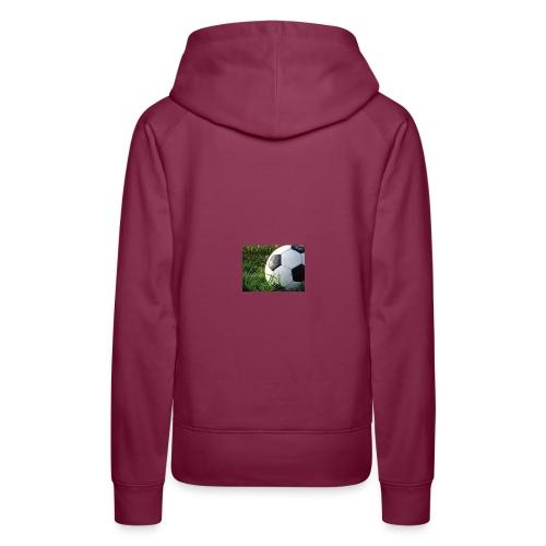 voetbal winkel - Vrouwen Premium hoodie