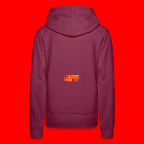 Logo SupeRichieGames - Vrouwen Premium hoodie
