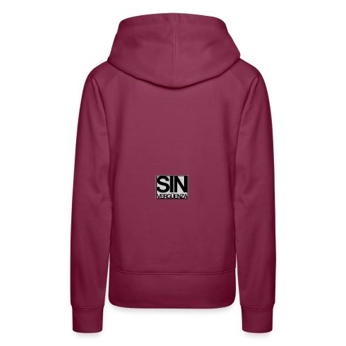 Sinverguenza1 - Sudadera con capucha premium para mujer