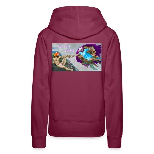 TwitchGame - Sweat-shirt à capuche Premium pour femmes
