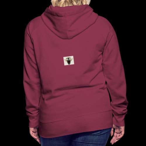 team - Sweat-shirt à capuche Premium pour femmes
