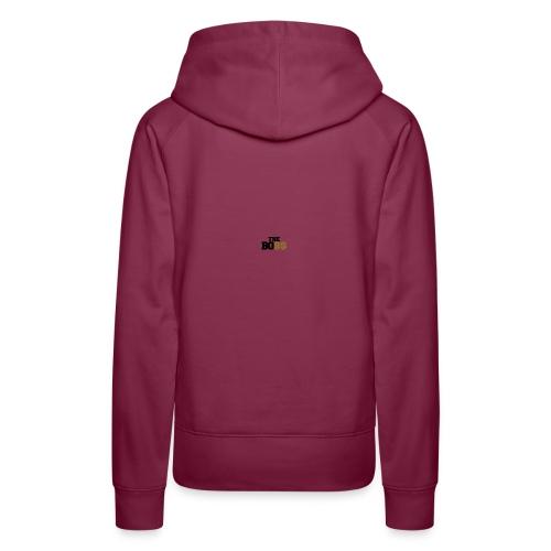 logo - Dame Premium hættetrøje