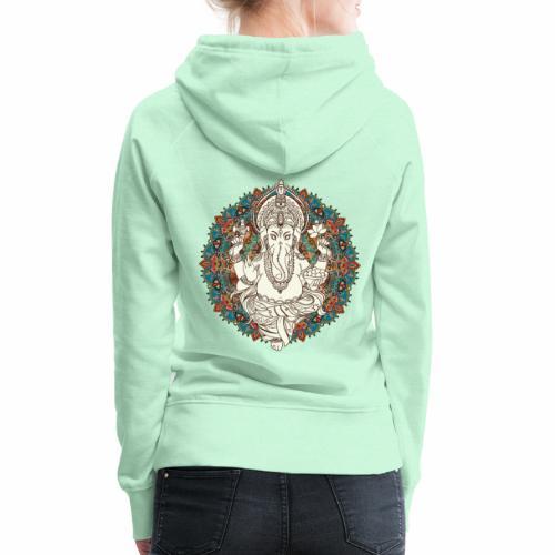 Ganesha - Dame Premium hættetrøje