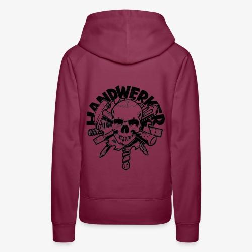 Handwerker Skull'n'Tools - Frauen Premium Hoodie