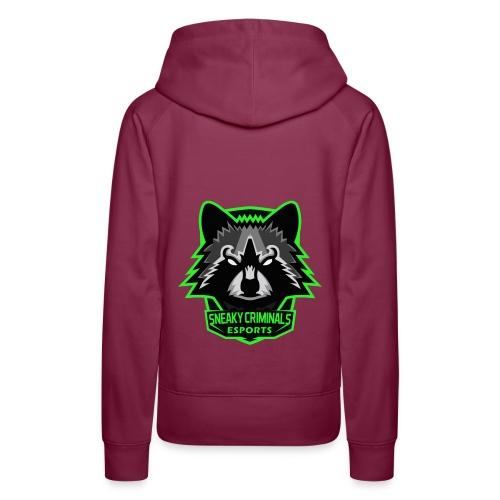Sneaky Criminals eSports - Sweat-shirt à capuche Premium pour femmes