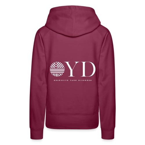 obsessive yarn disorder - OYD - Frauen Premium Hoodie