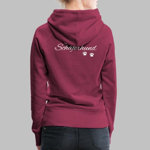 Mein Schäferhund - T-Shirt - Hoodie - Pullover - Frauen Premium Hoodie