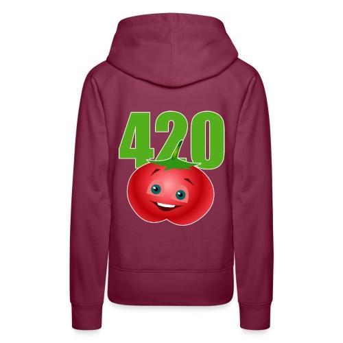 Tomate 420 - Frauen Premium Hoodie