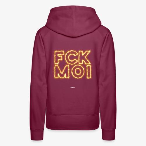 FCKMOI #05 - Frauen Premium Hoodie